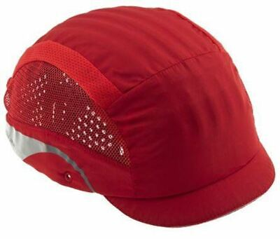 JSP Red Bump Cap Hardcap Safety Caps Hats Aerolite Head Protection AAG000-000-60