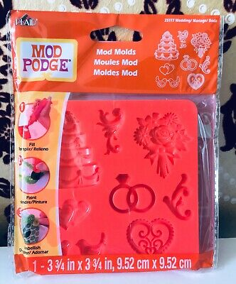 Mod Podge Molds - Wedding   - NEW