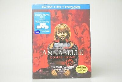 Annabelle Comes Home* {New Blu-ray+DVD} No Digital, includes Slipcover