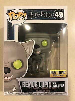 Funko Pop! Harry Potter Remus Lupin As Werewolf Hot Topic Exclusive! #49 Vinyl