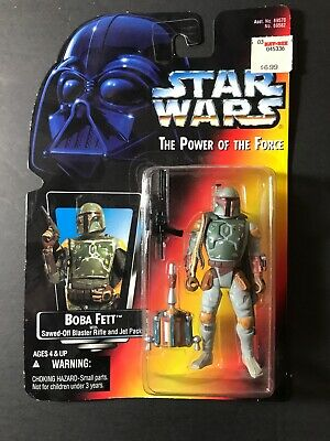 Star Wars - Power of the Force (POTF) - Action Figure - Boba Fett (3.75 inch)