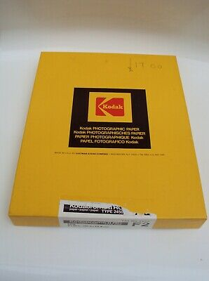 Kodabrome II RC Paper Type 2450 F2 (8 x 10 in/20.3 x 25.4 cm)100 sheets open box