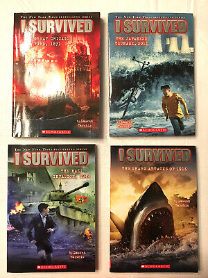 I Survived: I Survived Collection Books - Lauren Tarshis (Lot of 4 - Paperback)