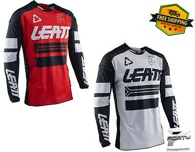 Leatt Men's GPX 4.5 X-Flow Jersey Vented Motocross ATV/UTV MX Dirtbike Offroad