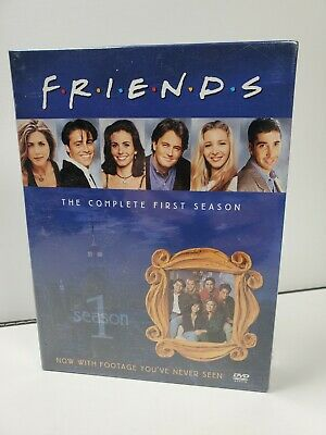 SEALED Friends Complete First Season (DVD, 2002, 4-Disc Set, Four Disc Boxed Set