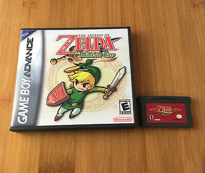 Legend of Zelda: The Minish Cap w/New Custom Case - Nintendo Game Boy US Seller!