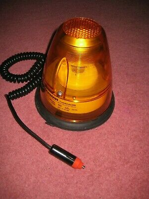 Flashing Amber Roof Light Road Safety Dorman Trafic Beacon Magnetic 12v