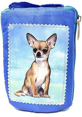 Chihuahua Foldable Tote Bag - Durable, Waterproof - Zippered Market Tote