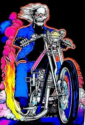 Highway to Hell - Blacklight -  Poster 23 in X 35 in - POSTER