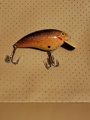"""""""Fred C Young Big O"""" Original Wood Hand Carved Lure #2701 Vintage Fishing"""