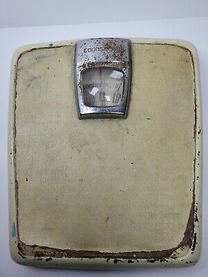 Vintage Counselor Bathroom Weight Scale Mid Century WORKS