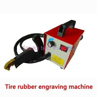 220V electric tire engraving machine rubber sheet slotting machine 350W