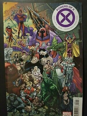 Powers Of X #6     Javier Garron Connecting Variant   House Of X    Xmen
