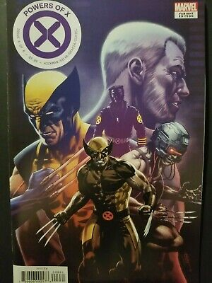 Powers Of X #6    Cafu Wolverine Characters Decade Variant   House Of X    Xmen