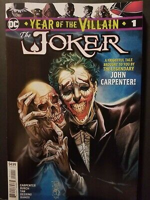 Year Of The Villain The Joker #1    Dc Comics    Hot, Sold Out    Batman    Nm