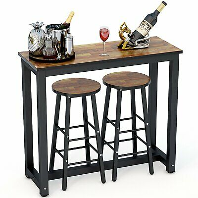 Prime Tribesigns 3 Piece Pub Table Set With 2 Bar Stools For Home Theyellowbook Wood Chair Design Ideas Theyellowbookinfo