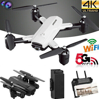 Drone X Pro Foldable Quadcopter Drone 4K 1080P Dual Camera|5G WiFi FPV GPS 3D RC