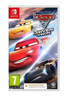 Cars 3 Driven to Win (Nintendo Switch) IN STOCK NOW Brand New & Sealed