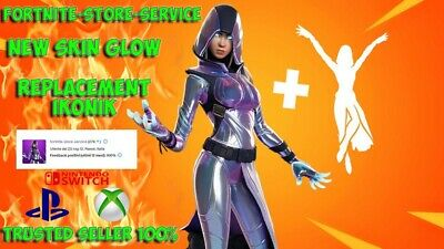 Glow Skin + Emote Fortnite ✅Trusted Seller✅Replacement Ikonik Ps4/Pc/Xbox/Switch