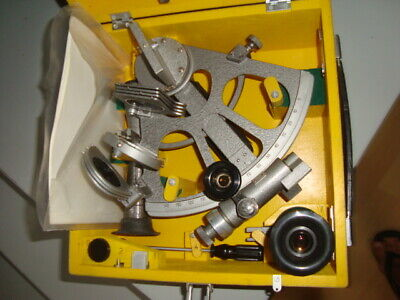 SOVIET RUSSIAN NAVY MARINE SEXTANT SNO-T made in 1995 USSR
