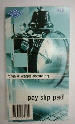 PAY SLIP PAD-PSP Time & Wages Recording