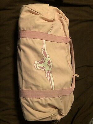 R.M Williams Nanga Pink Canvas Overnight Bag