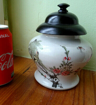 signed   pot a thé ? gingember pot ?chine asie wiet.chineese japan