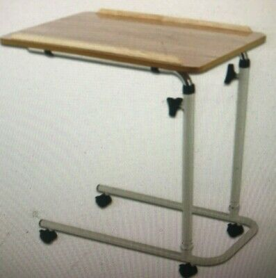 Days Overbed Table With Castors Flat Packed