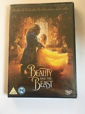 Beauty and The Beast Brand New Sealed (DVD, 2017)