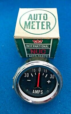 Nuc Universal Classic Ammeter Gauge Classic & Kit Car New & Boxed