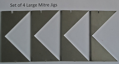Large Mitre Jigs for Bookbinding Corner Cutting