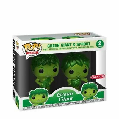 Funko Pop Target Exclusive Metallic Green Giant And Sprout 2-Pack (Sdcc Debut)