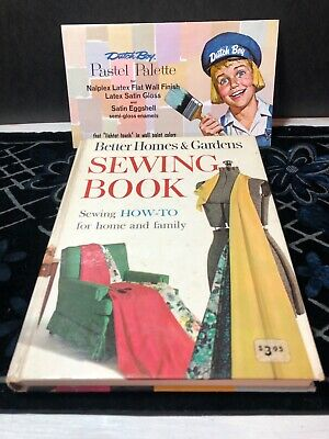 Vintage Better Homes & Gardens Sewing Book 1961 How-to, with Bonus insert