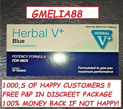 40 (4X10) Blue Sex Tablets For Men Erection New Stock Exp 04/2022 @ 7 Day Sale @