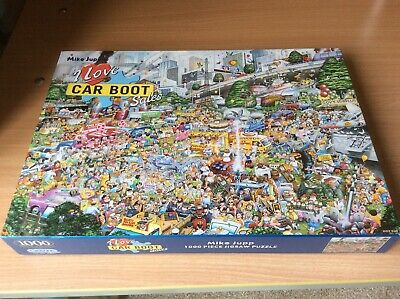 Gibsons Jigsaw Puzzle 1000 pieces I Love Car Boot sales