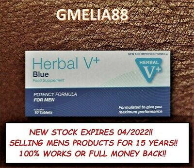 40 (4X10) Blue Sex Tablets For Men Erection New Stock Exp 04/2022 @ 7 Day Sale@