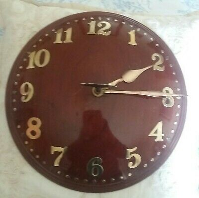 Zenith Wall Clock ORIGINAL RARE