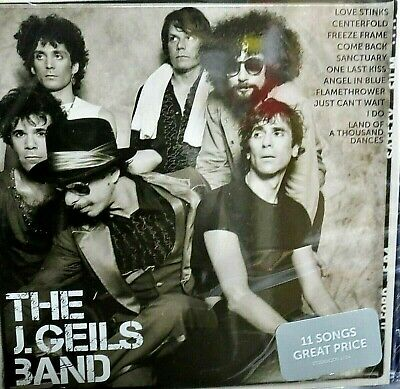 Icon by J. Geils Band Best of Hits NEW! CD ,11 Greatest Hits ,Love Stinks,Rock