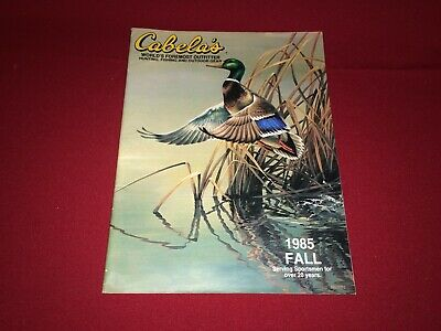 Fall 1985 Cabela's Hunting/Fishing/Outdoor Gear Catalog VTG Clothes/Decoys/Boots