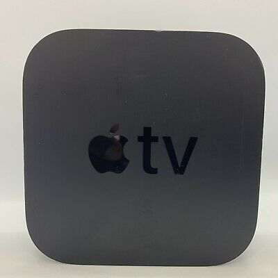 Apple TV (5th Generation) 64GB 4K HD  (MP7P2LL/A) - Black HDR, Grade C