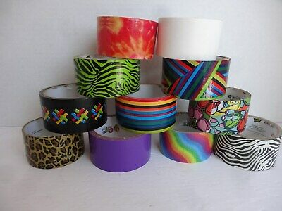 Colorful Craft Duck Tape Set of 10