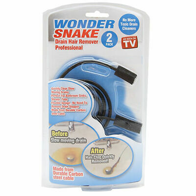 Wonder Snake Drain Hair Remover Two Pack