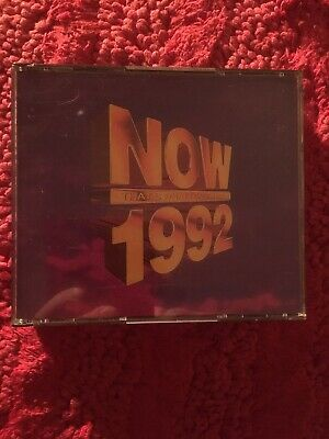 Now Thats What I Call Music 1992 • Double Thick Case Cd