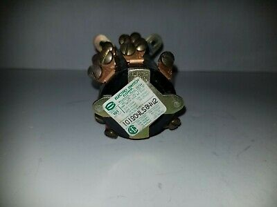 Electro Switch Rotary Switch, 120/240VAC, Series 101, 101904LS8442