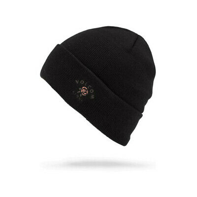 Bonnet Volcom Power Cuff Beanie Black