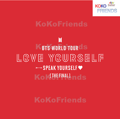 [Pre Order] BTS WORLD TOUR Speak Yourself The Final MD Item Official KPOP Goods