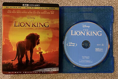 Lion King Live Action (Blu-Ray Disc ONLY, 2019 + Slipcover/Blank Case) SEE INFO!