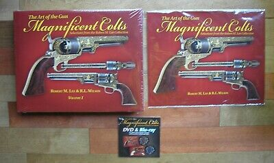 The Art of the Gun: Magnificent Colts Volume I & II Lee Wilson DVD Sealed Books