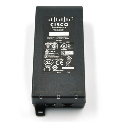 Cisco AIR-PWRINJ4 Power Injector P/N#341-0210-01 For 3500 /AP1140/1260/1250