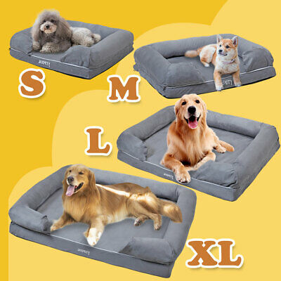 Small Large Cozy Pet Bed Puppy Cushion Soft Warm Kennel Cat Dog Nest Mat Blanket